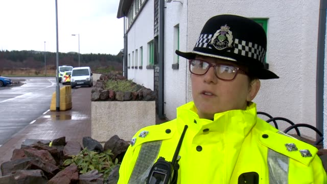 inspector isla campbell of police scotland talking about the difficulties in recovering the bodies of three climbers who died in an avalanche on ben... - mountain stock videos & royalty-free footage