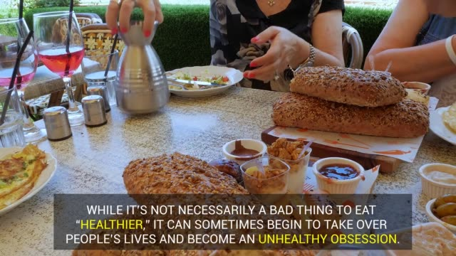 instead of counting calories, the next generation's irregular eating behaviors consist of eating too clean, juicing, or going raw. - anorexia nervosa stock videos & royalty-free footage