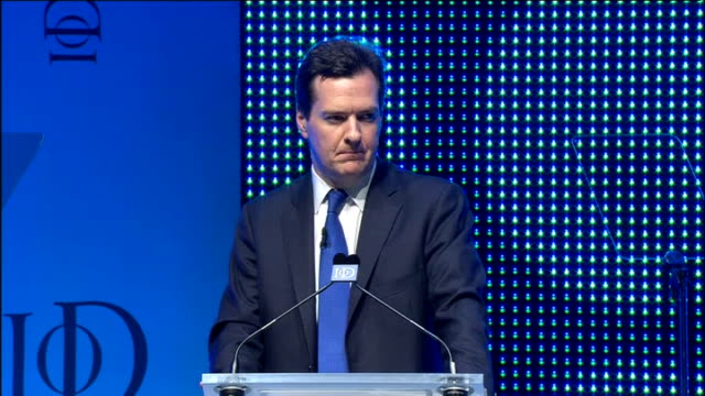 george osborne speech osborne speech sot that's not all we have also made the taxation of international profits far more competitive britain has... - cable box stock videos & royalty-free footage