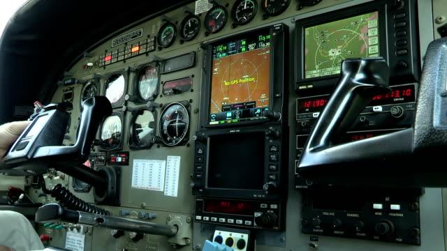 Instrument panel of a Cessna 208 Caravan