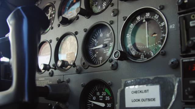 Instrument Panel on Light Aircraft
