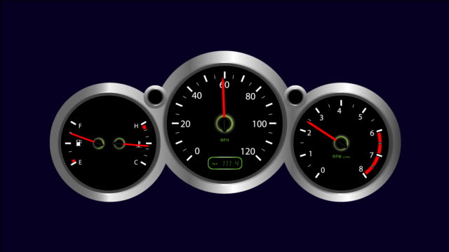 instrument panel - three objects stock videos & royalty-free footage