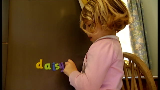 insurance cover for private midwives 3yearold daisy anderson spelling with magnetic letters on fridge door - spelling stock videos & royalty-free footage