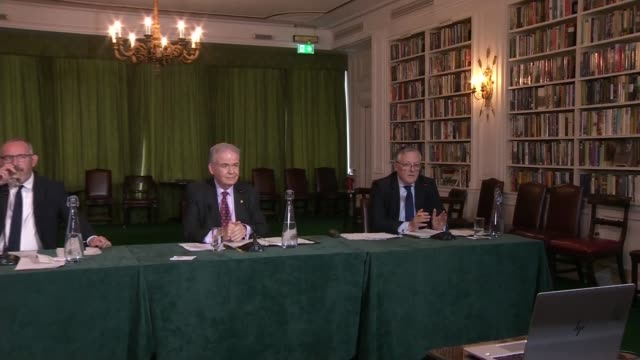intelligence and security committee russia report press conference; england: london: int intelligence and security committee press conference sot... - ウィルトシャー州点の映像素材/bロール