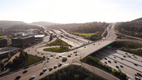 vidéos et rushes de interchange - san diego