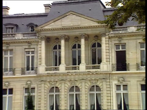 paris tgv organisation for economic development building gv oecd building zoom in lagv ditto int cms rick imai intvwd sof there is a lot of slack in... - oeec video stock e b–roll