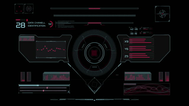 HUD interface