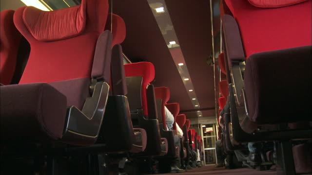 MS LA TGV interior / Brussels, Belgium