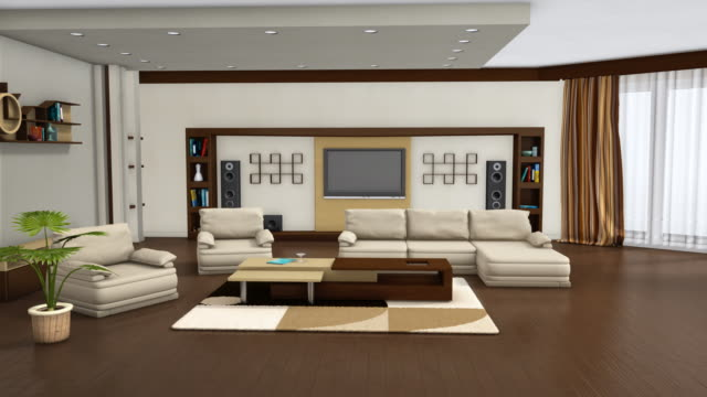 interior design - cartoon p stock videos & royalty-free footage