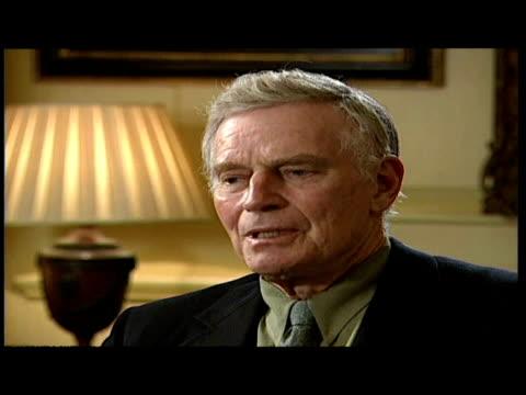 interior interview actor charlton heston wife lydia heston - lydia clarke stock videos & royalty-free footage