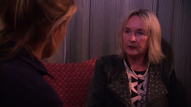interior interview june steenkamp reeva steenkamp's mother talks about forgiving oscar pistorius and being a christian on november 03 2015 in... - オスカー・ピストリウス点の映像素材/bロール