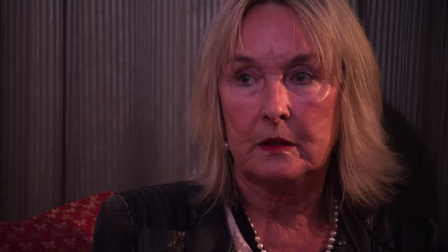 interior interview june steenkamp reeva steenkamp's mother talks about what she would say to oscar pistorius and if she thinks the meeting will take... - オスカー・ピストリウス点の映像素材/bロール