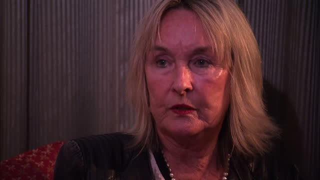 interior interview june steenkamp reeva steenkamp's mother talks about whether there was negative treatment of oscar pistorius on november 03 2015 in... - オスカー・ピストリウス点の映像素材/bロール