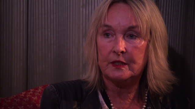 interior interview june steenkamp reeva steenkamp's mother talks about not wanting to meet oscar pistorius facetoface on november 03 2015 in... - オスカー・ピストリウス点の映像素材/bロール