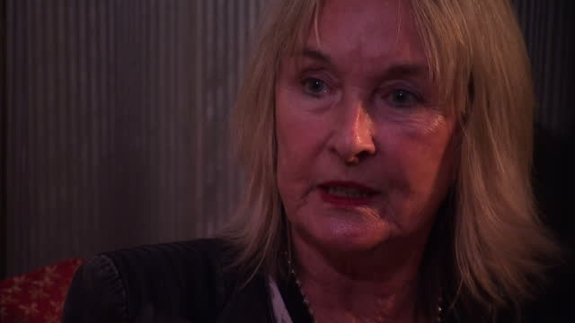 interior interview june steenkamp reeva steenkamp's mother talks about setting up the reeva rebecca steenkamp foundation on november 03 2015 in... - オスカー・ピストリウス点の映像素材/bロール