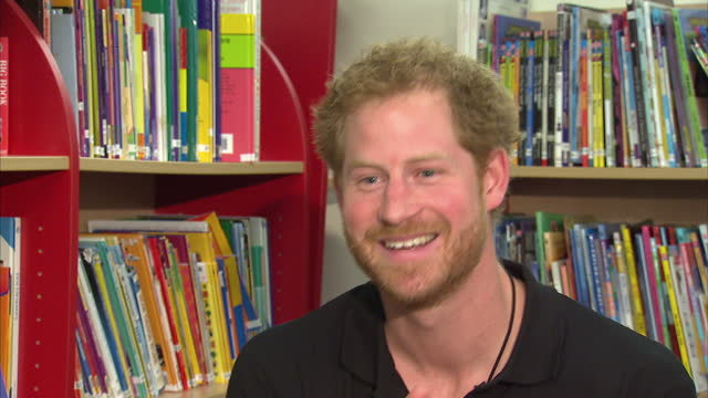Interior interview Prince Harry talks about the future of the Invictus Games and what he has lined up for the future on April 27 2016 in London...