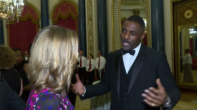 Interior interview with actor Idris Elba speaking about his involvement with the Prince's Trust how the charity helped him when he was younger and...
