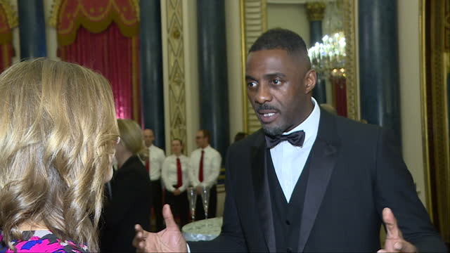 Interior interview with actor Idris Elba speaking about the importance of engaging with young people so that they are aware of opportunities and...