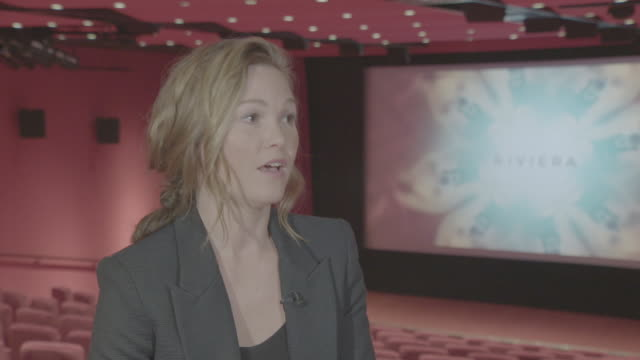 interior interview with actor julia stiles on donald trump on 10 may 2019 in london united kingdom - julia stiles stock videos and b-roll footage