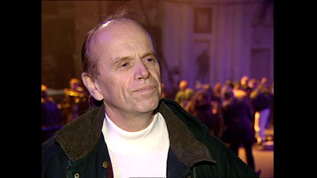 Interior interview with Al Jardine speaking about Status Quo working with the Beach Boys at the Brixton Academy on January 28 1996 in London England