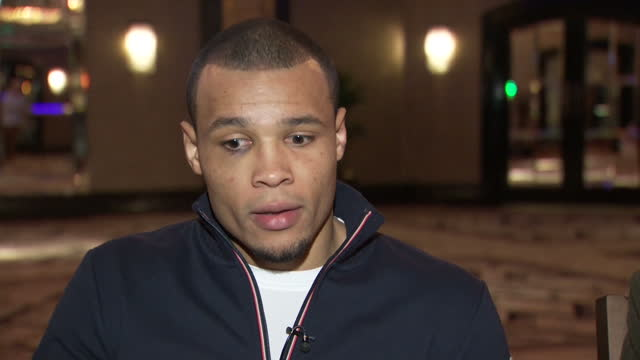 vidéos et rushes de interior interview with chris eubank jr speaking about how his experience with nick blackwell's injury has made him more determined to be more... - agression