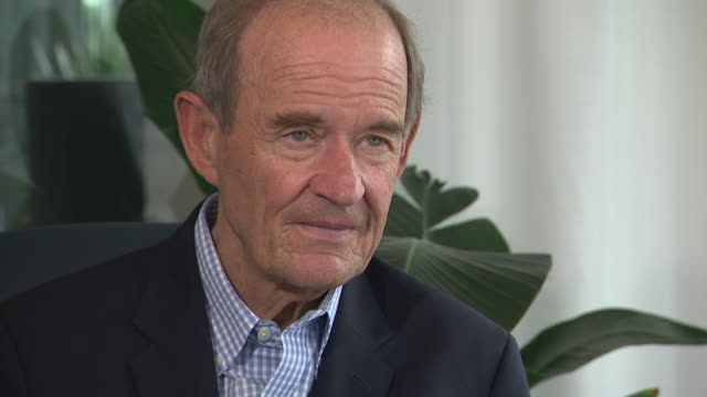 interior interview with david boies the lawyer representing virginia roberts giuffre, claiming she was forced to have sex with prince andrew, in... - assertiveness stock videos & royalty-free footage