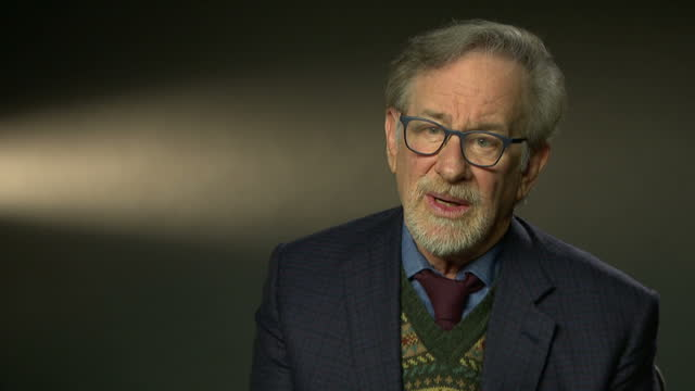 Interior interview with director Steven Spielberg speaking about his latest film The Post and how the story and its themes reflect the modern issue...