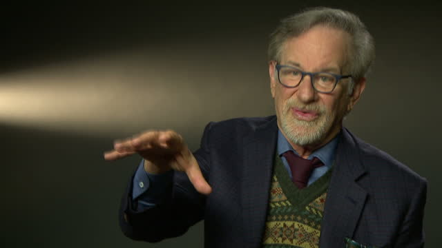 Interior interview with director Steven Spielberg speaking about how society needs to address the scandal of sexual harassment and bullying saying...