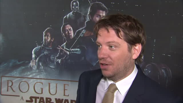 Interior interview with Gareth Edwards director about being asked to direct the film fan reaction meeting George Lucas at the Rogue One A Star Wars...