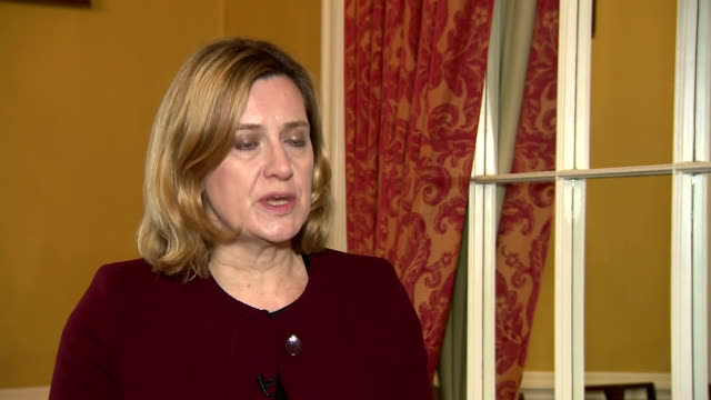 interior interview with home secretary amber rudd speaking about the investigation into the poisoning of former russian spy sergei skripal and his... - sergei skripal stock videos and b-roll footage