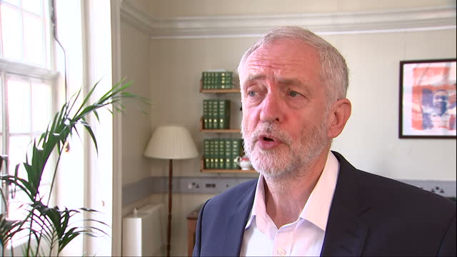 Interior interview with Jeremy Corbyn about what the Labour party expects from Brexit negotiations but that it is worrying that the government hasn't...