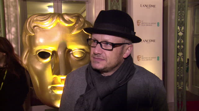 interior interview with lenny abrahamson director of 'room' on february 12 2016 in london england - lenny abrahamson stock videos and b-roll footage