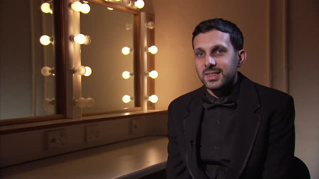 interior interview with magician dynamo about his future plans on march 07 2016 in london england - magician stock videos and b-roll footage