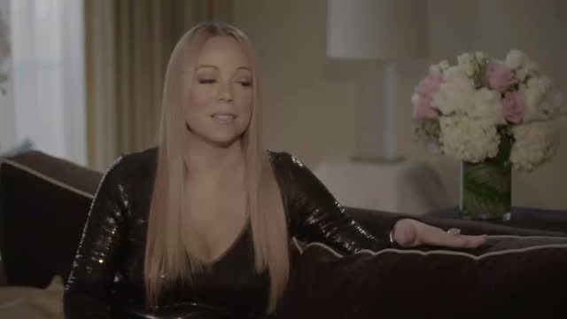 Interior Interview with Mariah Carey about Diversity in the Entertainment Industry on January 30 2016 in Los Angeles California