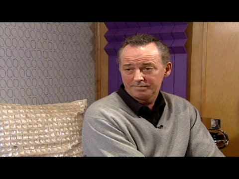 interior interview with michael barrymore. - michael barrymore stock videos & royalty-free footage