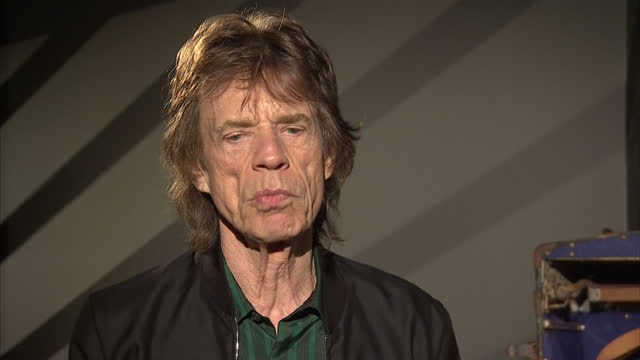 Interior interview with Mick Jagger of the Rolling Stones speaking about the EU Referendum saying that it is a very complex issue and if the UK were...