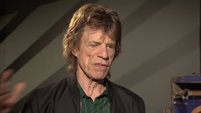 Interior interview with Mick Jagger speaking about the Rolling Stones performing in Cuba and some of the bureaucratic obstacles they faced>> on April...
