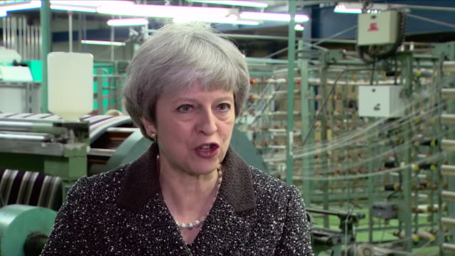 interior interview with prime minister theresa may on brexit on 29 march 2018 in ayr, united kingdom - ayr stock videos & royalty-free footage