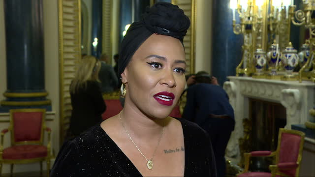 Interior interview with singer Emeli Sande speaking about the important work done by the Prince's Trust to support vulnerable young people on...
