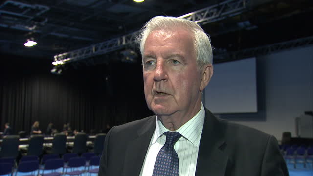 Interior interview with Sir Craig Reedie President of the World AntiDoping Agency speaking about the positive progress WADA is making and that Russia...
