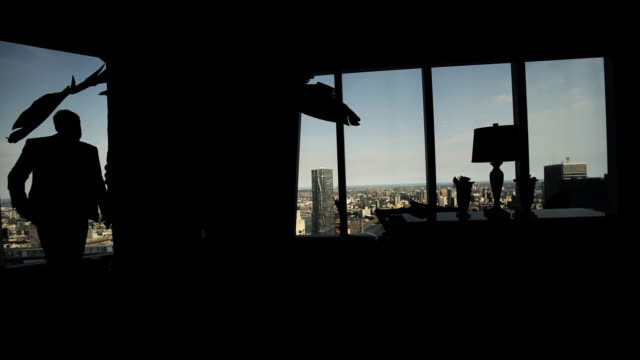 interior manhattan time lapse - penthouse stock videos and b-roll footage