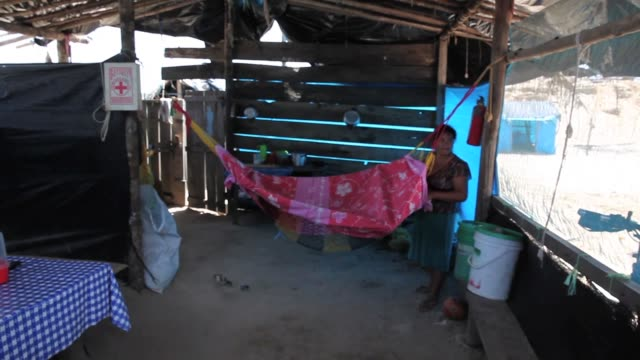 pan interior of a makeshift hut build in an illegal gold mining area the region of madre de dios in southeastern peru has been devastated by illegal... - resourceful stock videos & royalty-free footage