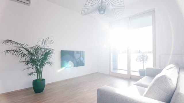 interior of a new modern apartment - home showcase interior stock videos & royalty-free footage