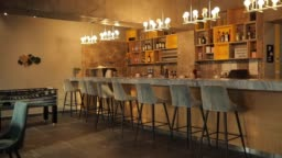Interior of coffee shop