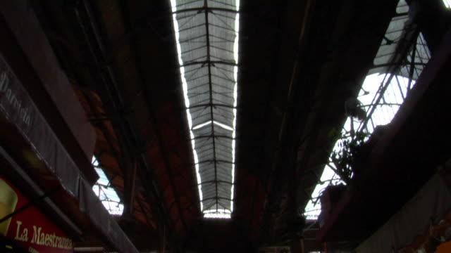 MS TD Interior of Del Puerto Market, Montevideo, Uruguay