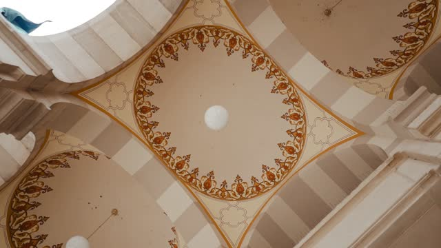 interior of gazi husrev-beg madrasa in sarajevo, bosnia and herzegovina - arch stock videos & royalty-free footage