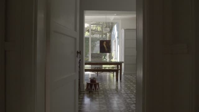 interior of home - doorway stock videos & royalty-free footage