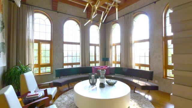 Intérieur de luxe salle de séjour