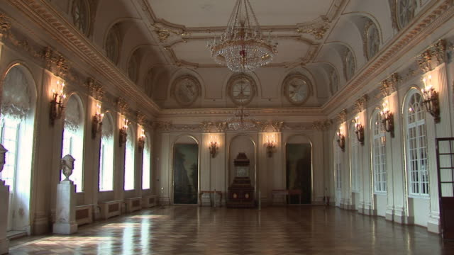 WS Interior of Menshikov palace / Saint Petersburg, Russia