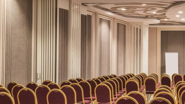 interior of modern conference hall - home showcase interior stock videos & royalty-free footage